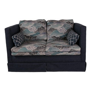 Modern Madcap Cottage Custom Love Seat For Sale