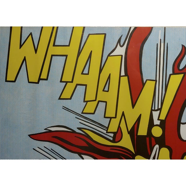 1960s Roy Lichtenstein -Whaam ! - Vintage Lithographs - A Pair For Sale - Image 5 of 12