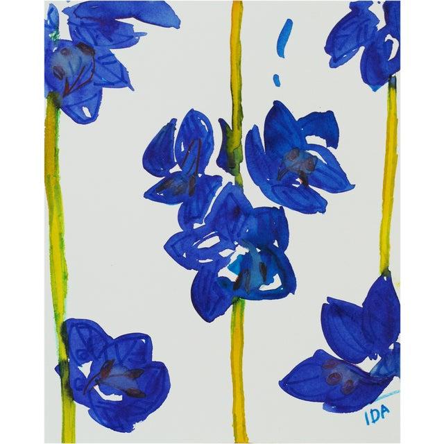 Blue Flowers I Multimedia - Image 2 of 2
