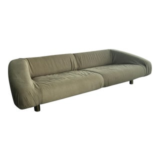 Baxter Italian Leather Sofa For Sale