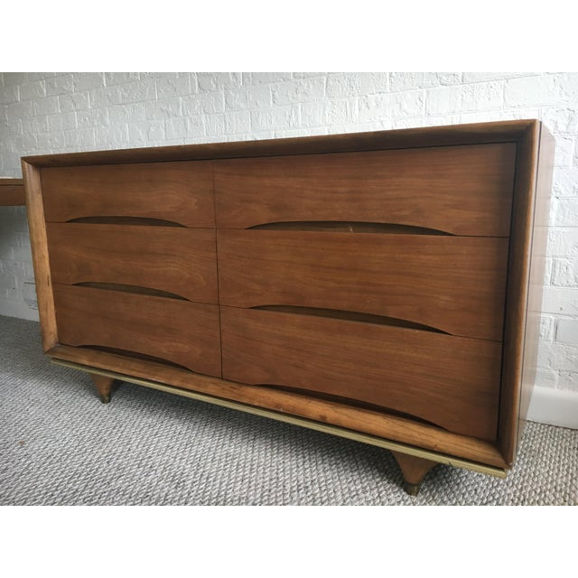 "Kent Coffey Kent Coffey ""The Elegante"" Dresser For Sale - Image 4 of 10"
