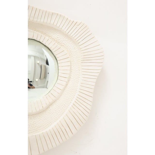 Carved Plaster Mirror For Sale - Image 4 of 10