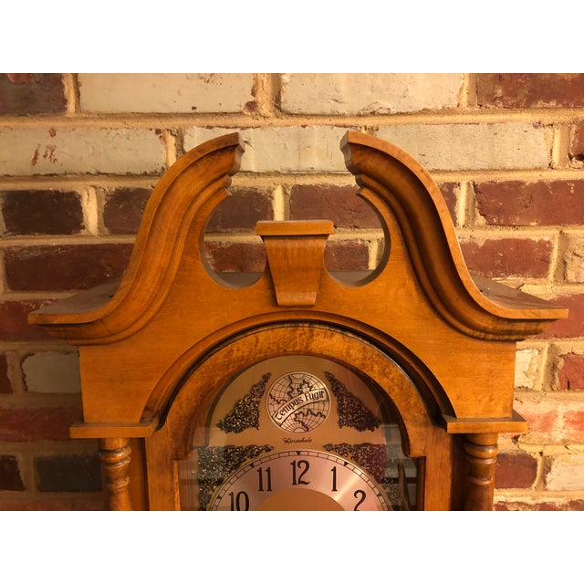 1970s Herschede Lady Hawthorne No. 611 Grandfather Clock For Sale - Image 5 of 8