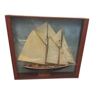 Vintage Sailboat Diarama