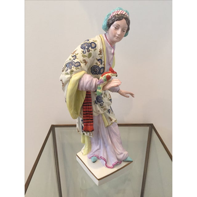 Chinoiserie Figurines by Chelsea House - Pair - Image 8 of 10