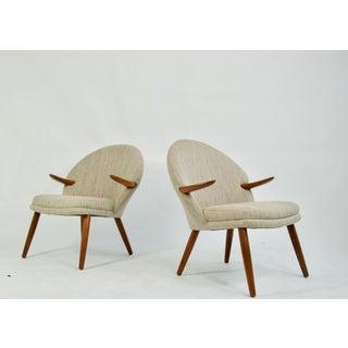 Pair of Kurt Olsen Danish Teak Lounge Chairs Preview