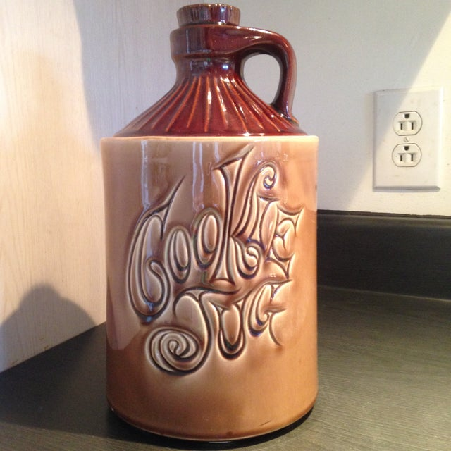 McCoy Vintage Brown Ceramic Cookie Jar - Image 2 of 8
