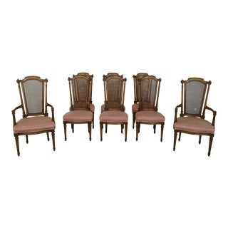 Set of 8 Karges French Style Dining Room Chairs For Sale