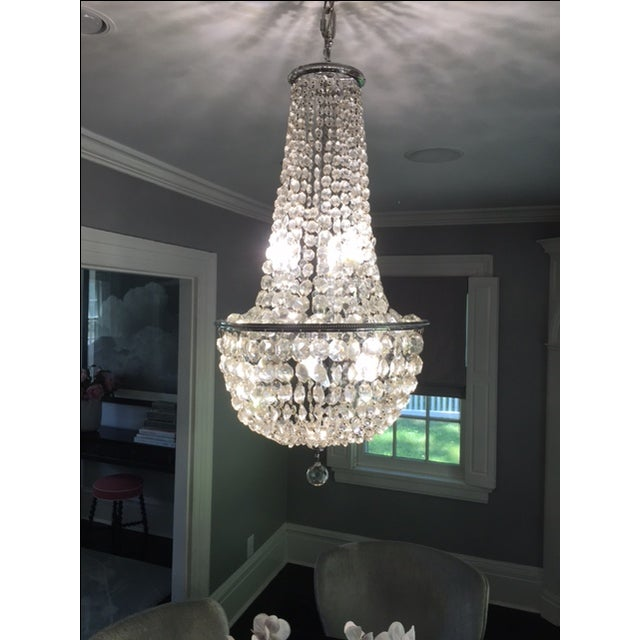 1900s Empire Crystal Chandelier - Image 3 of 11