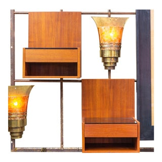 1960s Hans Wegner for Getama Floating Nightstands - a Pair For Sale