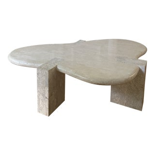 Maitland Smith Biomorphic Coffee Table For Sale