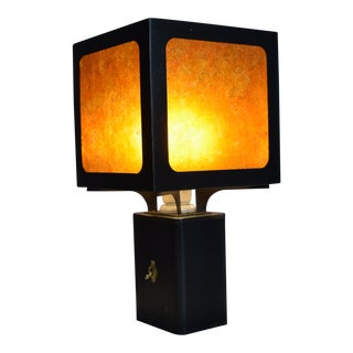 Cube Table Lamp For Sale