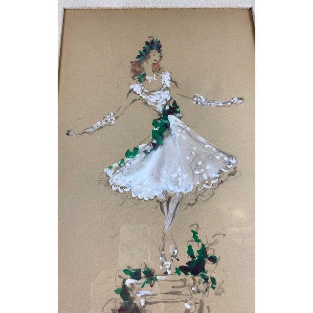 Marcel Vertes Marcel Vertes Paintings - a Pair of Whimsical Dancers For Sale - Image 4 of 13