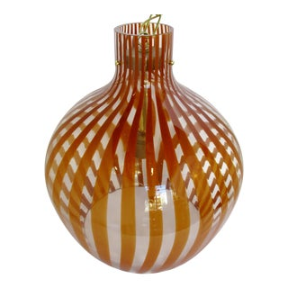 Oversize Italian Glass Pendant For Sale