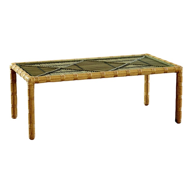 Celerie Kemble - Rafter Outdoor Cocktail Table For Sale