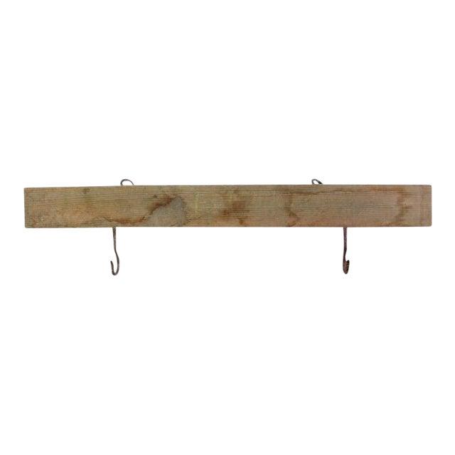 Vintage Hook Rack For Sale