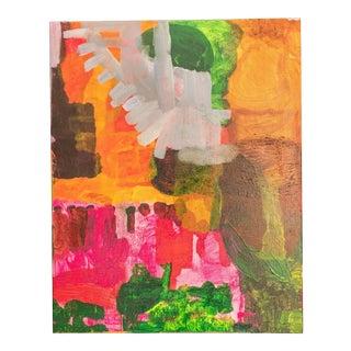 Impressionist Village Painting For Sale