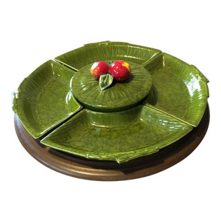 Maurice California Pottery Lazy Susan For Sale