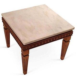 Gilt Italian Marble-Top Table