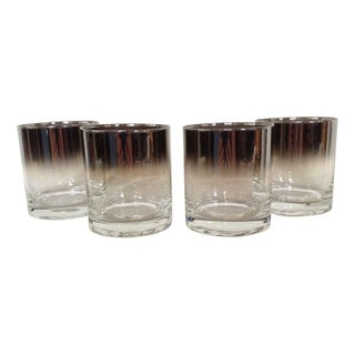 Smoked Mirror Ombre Short Tumblers - Set of 4
