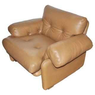 Tobia Scarpa for B&b Italia Coronado Lounge Chair For Sale