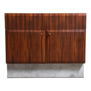 Handcrafted 1960s Brutalist Bar-Sideboard by De Coene Belgium For Sale