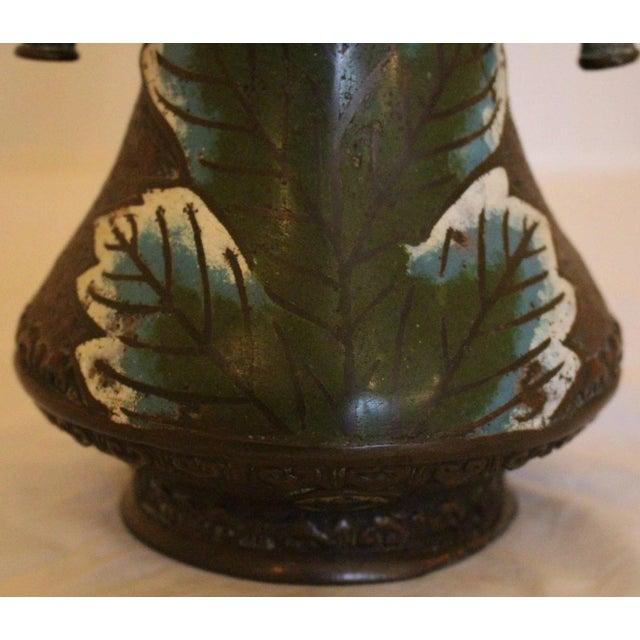 18th Century Japanese Edo Period Summerautumn Champleve Vase Chairish