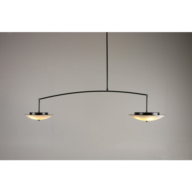 2010s Contemporary Christopher Objects Draftsman No.3 Cantilever Pendant Light by Topher Gent For Sale - Image 5 of 13