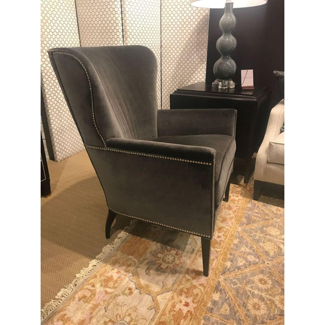 Hickory Chair Samuel Wing Chair - Image 6 of 8