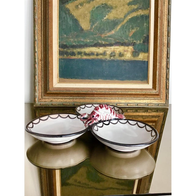 Late 20th Century Late 20th Century Lobster Serving Dish For Sale - Image 5 of 7