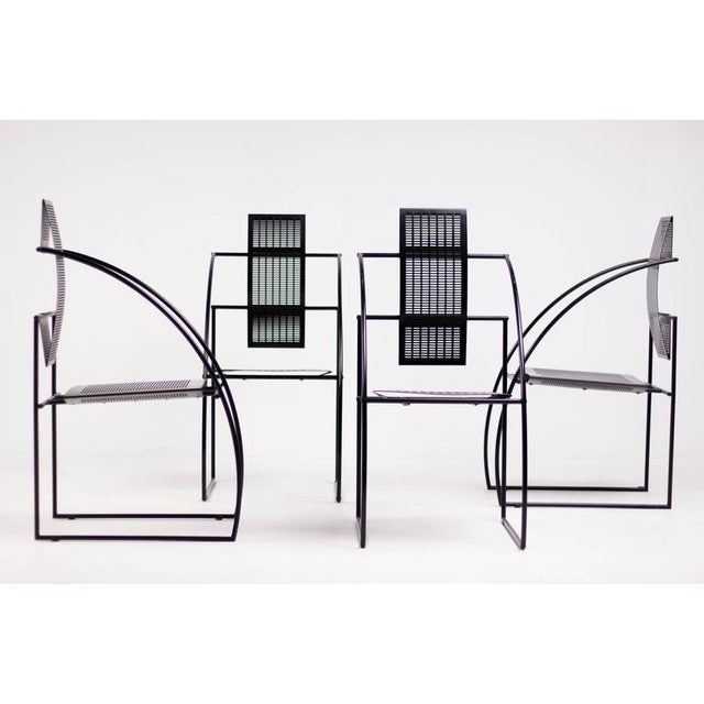 Set of Four Quinta Chairs, Mario Botta for Alias For Sale - Image 10 of 10