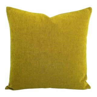 """Arc Com Fabric Spirit in Kiwi Pillow Cover - 20"""" X 20"""" For Sale"""