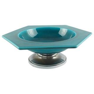 Paul Milet for Sevres Art Deco Modernist Ceramic Bowl