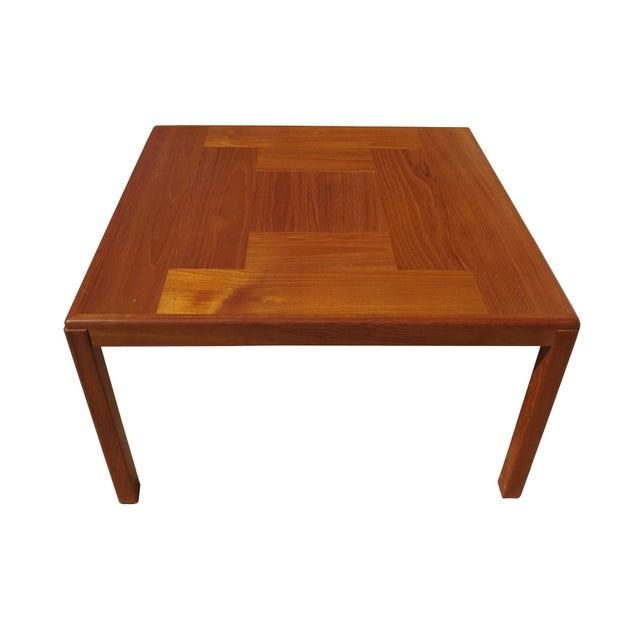 1960s 1960s Danish Mid-Century Modern Henning Kjaernulf Vejle Stole Møbelfabrik Side Table For Sale - Image 5 of 11