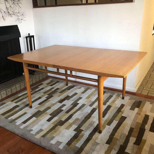 """Milo Baughman for Drexel """"Today's Living"""" Line Dining Table For Sale - Image 11 of 11"""