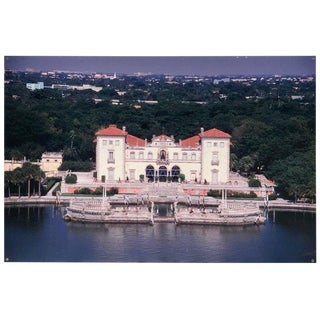 Monumental Photographic Print of Villa Vizcaya, Deaccessioned From Vizcaya For Sale
