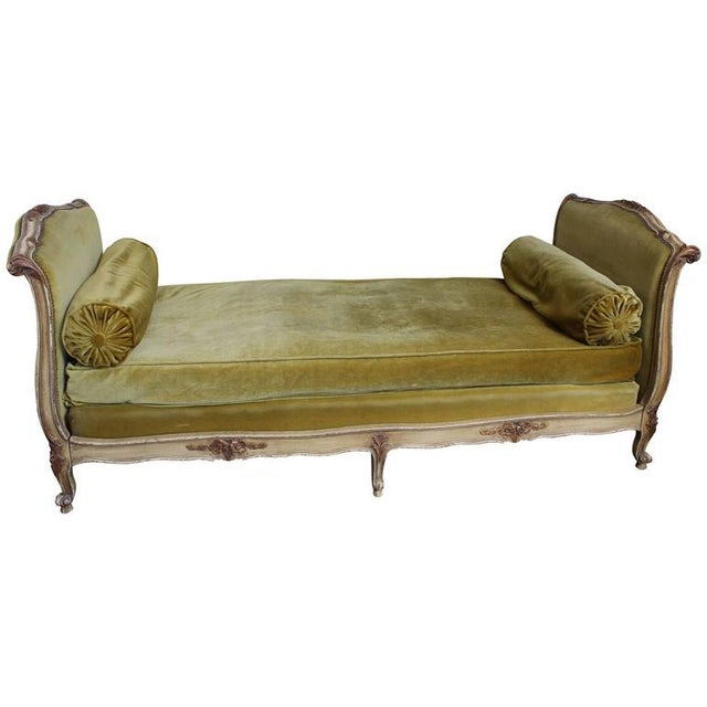 French Early 20th Century Louis XV Style Daybed For Sale - Image 10 of 10