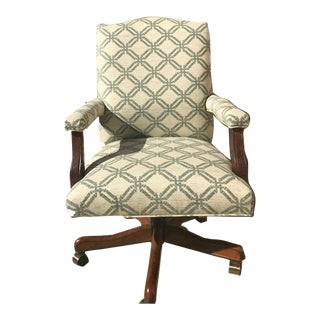 Sage & Ivory Upholstered Executive Office Chair