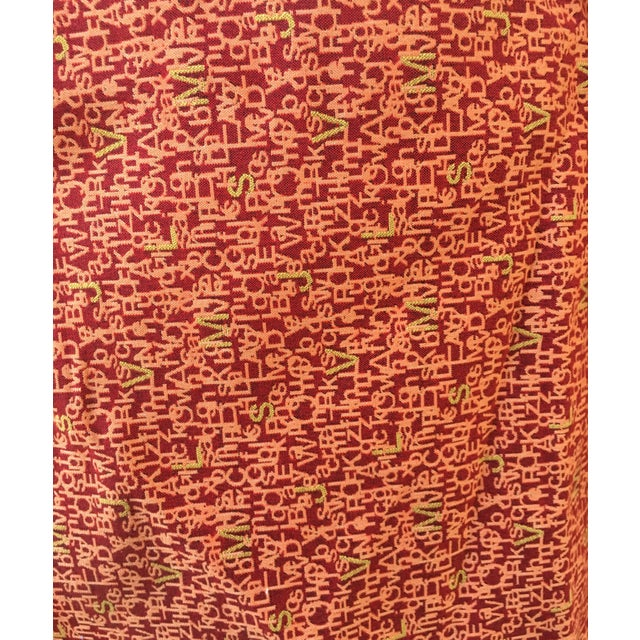 Jonathan Louis Letter Fabric - 2 Yards - Image 1 of 2