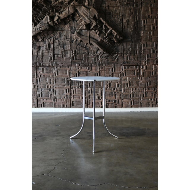 Stone 1975 Vintage Cedric Hartman Occasional Table For Sale - Image 7 of 7