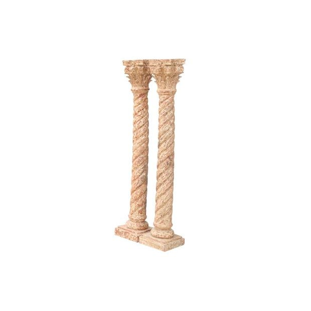 Neoclassical Style Porch Columns, Pair - Image 7 of 7