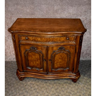 1990s Vintage Drexel Carved & Inlaid Tuscan Style Server Preview