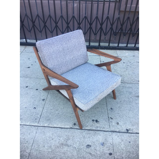 Mid-Century Modern Z Chair For Sale - Image 5 of 6