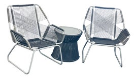Image of Glass Outdoor Chairs