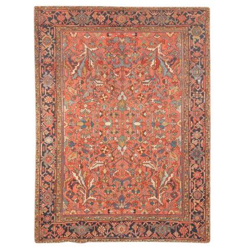 Antique Heriz Carpet For Sale