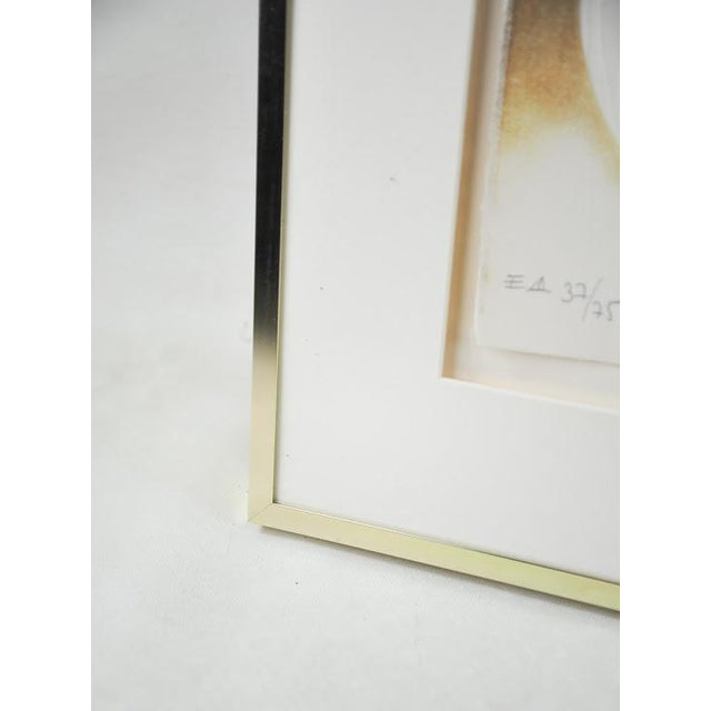 "Original Sunol Alvar Embossed Lithograph ""La Diligence and La Folie"" - Image 9 of 11"