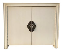 Image of Antique White Nightstands