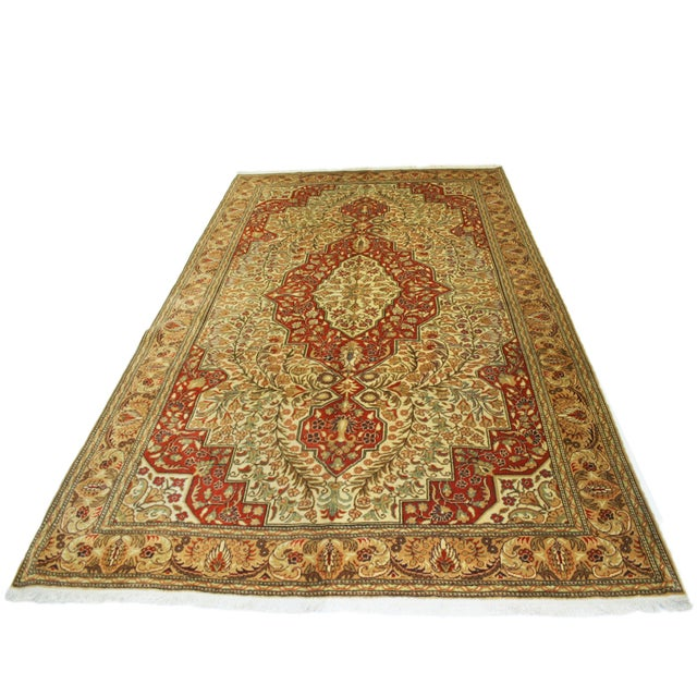 "Vintage Kayseri Carpet - 6'7"" x 10'1"" - Image 6 of 6"