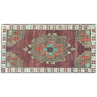 "Nalbandian - 1960s Turkish Oushak Yastik - 1'8"" X 3'3"" For Sale"