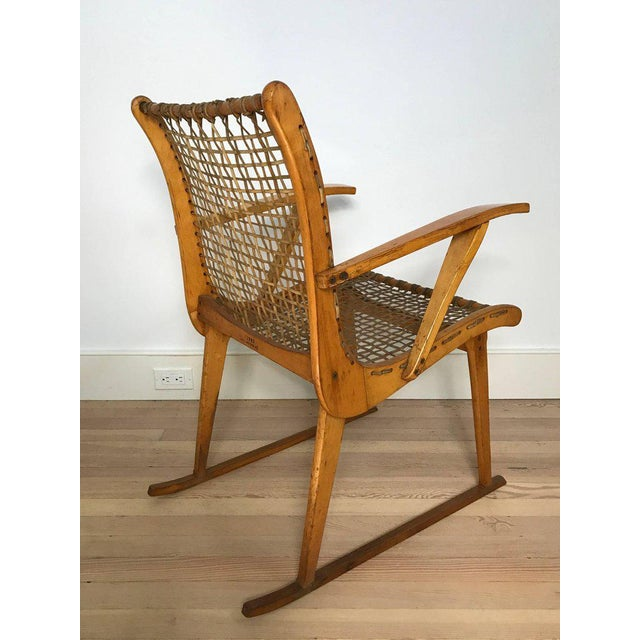 Vermont Tubbs Wood Armchairs - A Pair For Sale - Image 4 of 7